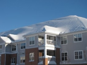 snow capped apartments