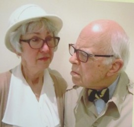 Joyce Garrison and Ed Robbins